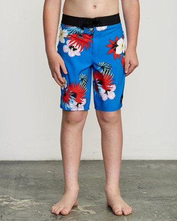 1 Boy's VA Printed Trunk Blue B155TRVA RVCA