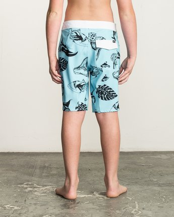 4 Boy's VA Printed Trunk Blue B155TRVA RVCA