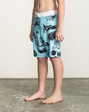 2 Boy's VA Printed Trunk Blue B155TRVA RVCA
