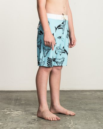 6 Boy's VA Printed Trunk Blue B155TRVA RVCA