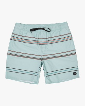0 Boy's Shattered Elastic Trunk Blue B169TRSH RVCA