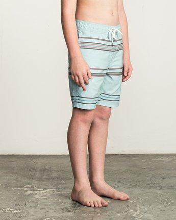 5 Boy's Shattered Elastic Trunk Blue B169TRSH RVCA