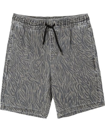 ESCAPE ELASTIC PRINT SHORT  B2011REP