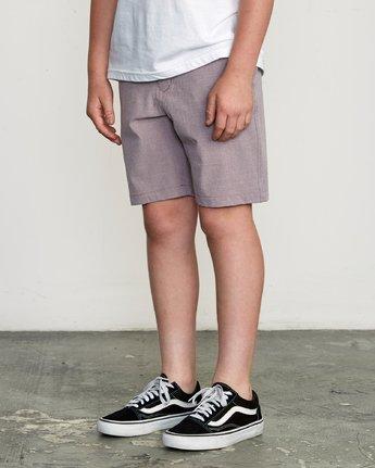 2 Boy's Balance Hybrid Short Purple B201NRBH RVCA