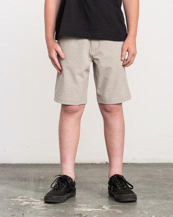 1 Boy's Balance Hybrid Short Beige B201NRBH RVCA