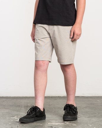 2 Boy's Balance Hybrid Short Beige B201NRBH RVCA
