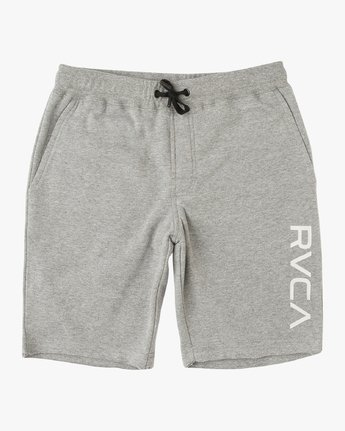 0 Boy's Ripper Fleece Sweatshort Grey B201URRI RVCA