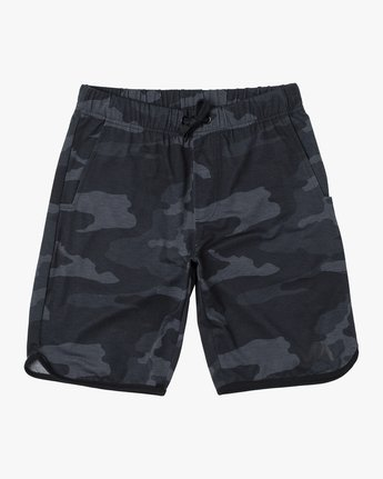 "1 BOYS VA SPORT IV SHORT 20"" Brown B2063RSS RVCA"