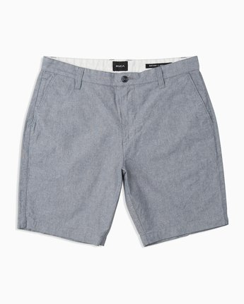 0 Boys That'll Walk Oxford Short Blue B210TRTW RVCA