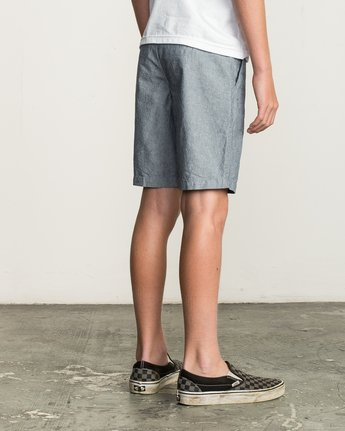 5 Boys That'll Walk Oxford Short Blue B210TRTW RVCA