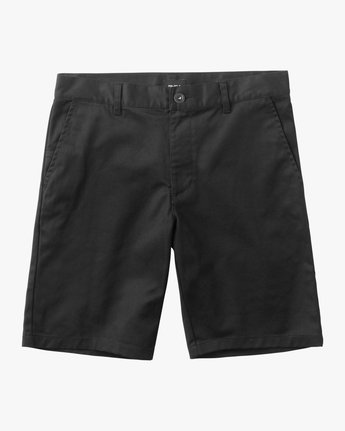 0 Boy's Weekday Stretch Short Black B240TRWD RVCA