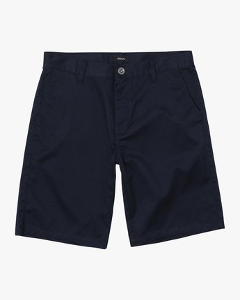 1 BOYS WEEKDAY STRETCH SHORT Blue B240TRWD RVCA