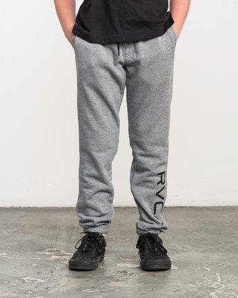 0 Boy's VA Guard Fleece Sweatpant Grey B301QRGU RVCA