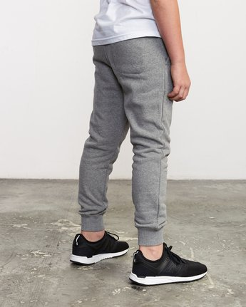 2 Boy's Ripper Sweatpant Grey B301URRI RVCA