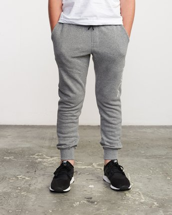 3 Boy's Ripper Sweatpant Grey B301URRI RVCA