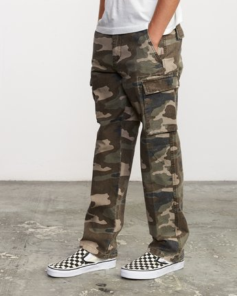 1 Boy's Americana Cargo Pant Brown B302VRCA RVCA