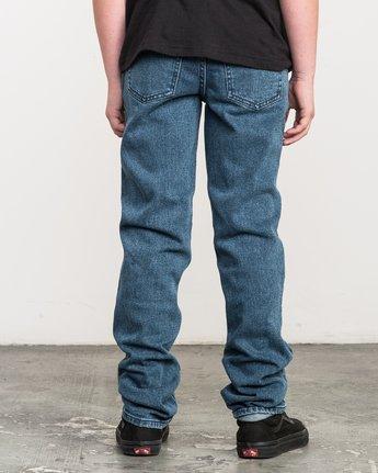 3 Boy's Daggers Denim Jeans Blue B303QRDA RVCA