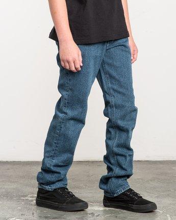 5 Boy's Daggers Denim Jeans Blue B303QRDA RVCA