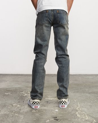 3 Boy's Daggers Denim Blue B303VRDA RVCA