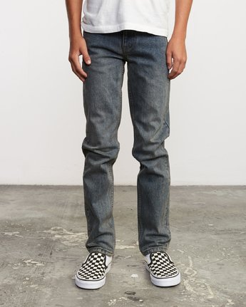 0 Boy's Daggers Denim Blue B303VRDA RVCA