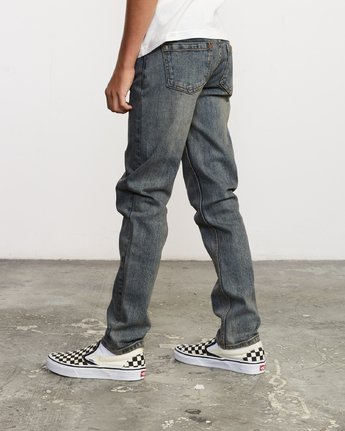 2 Boy's Daggers Denim Blue B303VRDA RVCA