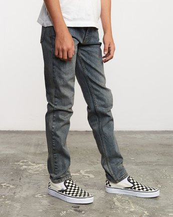 5 Boy's Daggers Denim Blue B303VRDA RVCA