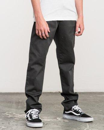 5 Boy's A.T. Dayshift Elastic Pant Black B310QRDS RVCA