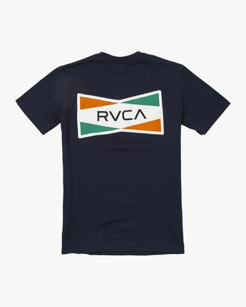 1 Boys SAX T-SHIRT Blue B4011RSA RVCA