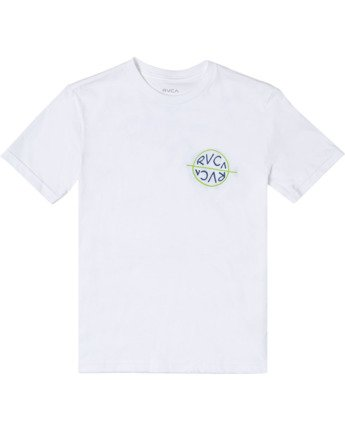 0 Boys PALM TIMES SHORT SLEEVE T-SHIRT White B4012RPA RVCA