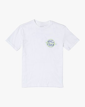 1 Boys PALM TIMES SHORT SLEEVE T-SHIRT White B4012RPA RVCA