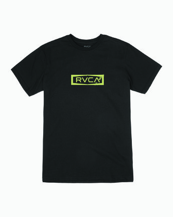 0 Boys BOUNDARY SHORT SLEEVE T-SHIRT Black B4013RBO RVCA