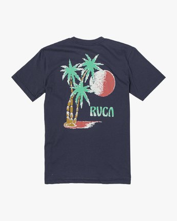 1 Boys TOURIST TRAP SHORT SLEEVE T-SHIRT Blue B4013RTO RVCA
