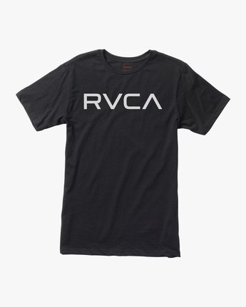 0 Boy's Big RVCA T-Shirt Black B401SRBI RVCA
