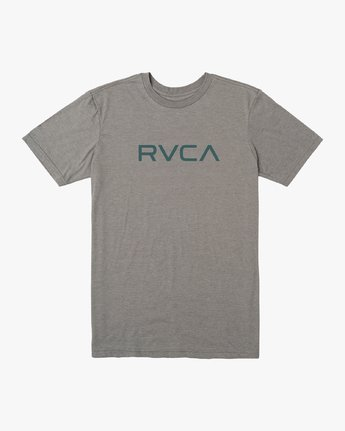 0 Boy's Big RVCA T-Shirt Grey B401SRBI RVCA