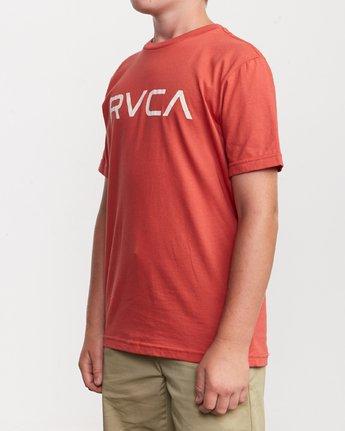 2 Boy's Big RVCA T-Shirt Green B401SRBI RVCA