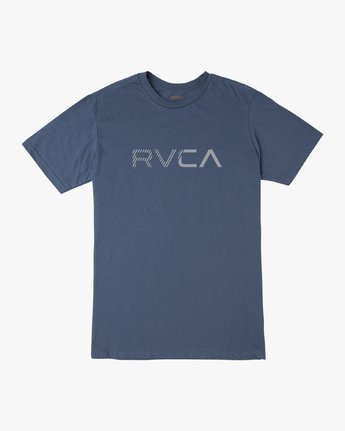 0 Boy's Blinded T-Shirt Blue B401TRBL RVCA