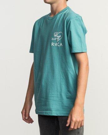 3 Boy's Pommier Eternal Struggle T-Shirt  B401TRET RVCA