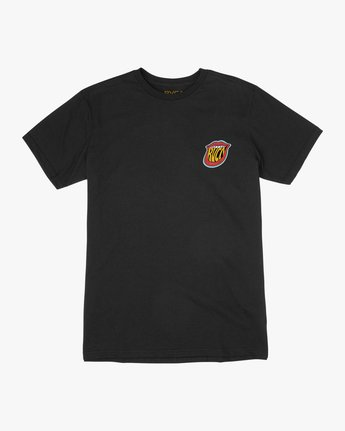 1 Boy's Dmote Jetty Lips T-Shirt  B401TRJE RVCA