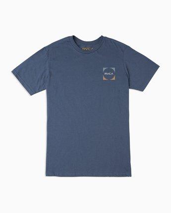1 Boy's Motorstripe T-Shirt Blue B401TRMS RVCA