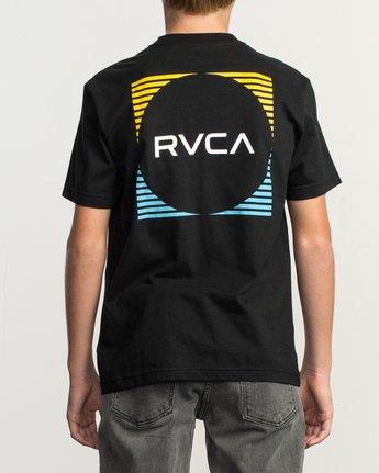 4 Boy's Motorstripe T-Shirt  B401TRMS RVCA