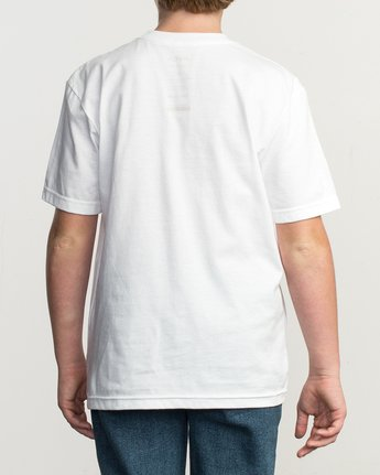 3 Boy's Ceddia Pompei T-Shirt  B401TRPO RVCA