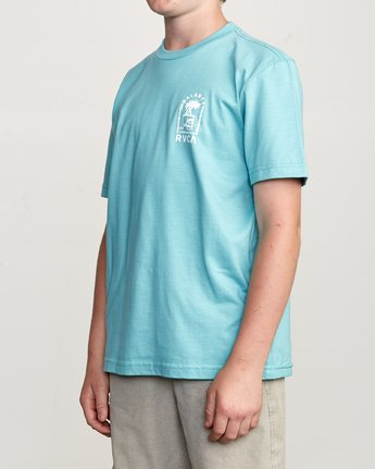 3 Boy's Bad Palms T-Shirt  B401URBA RVCA
