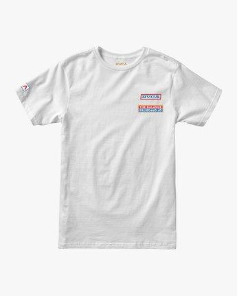 1 Boy's Daytona T-Shirt White B401URDA RVCA