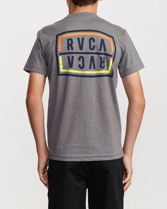 4 Boy's Flip Corpo T-Shirt  B401URFL RVCA