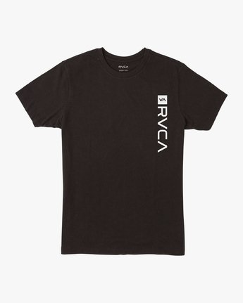 0 Boy's RVCA Box T-Shirt Black B401VRBO RVCA