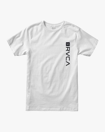 0 Boys RVCA Box T-Shirt White B401VRBO RVCA