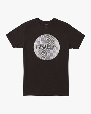 0 Boy's Motors Mix T-Shirt Black B401VRMM RVCA