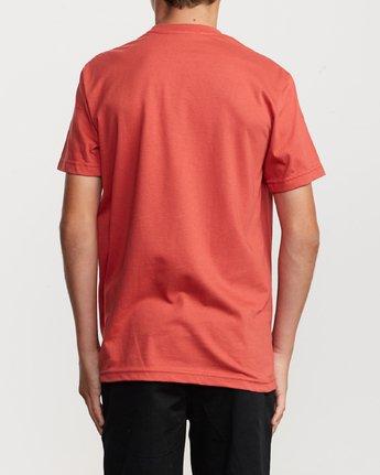 3 Boy's Motors Mix T-Shirt Grey B401VRMM RVCA