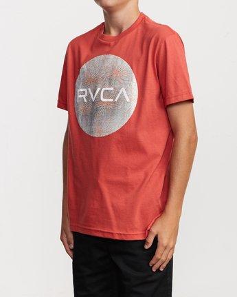 2 Boy's Motors Mix T-Shirt Grey B401VRMM RVCA