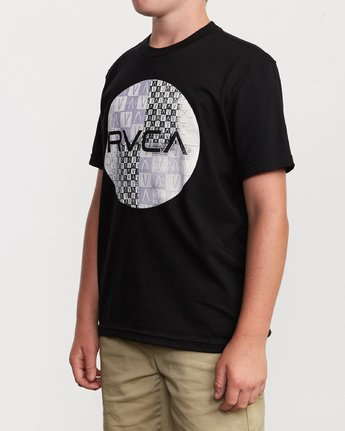 2 Boy's Motors Mix T-Shirt Black B401VRMM RVCA